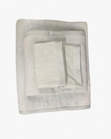 Pack drap de bain gris 100 % bio