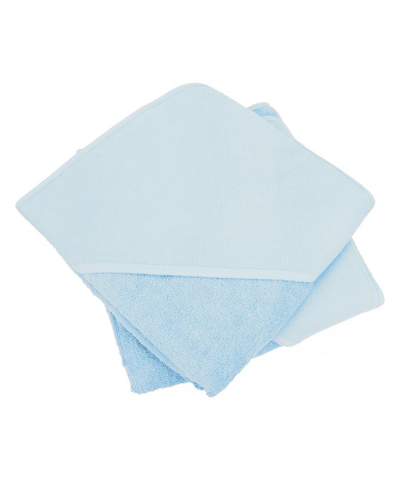 Cap de bain  Blue Ciel pour bébé 100 x 100 cm