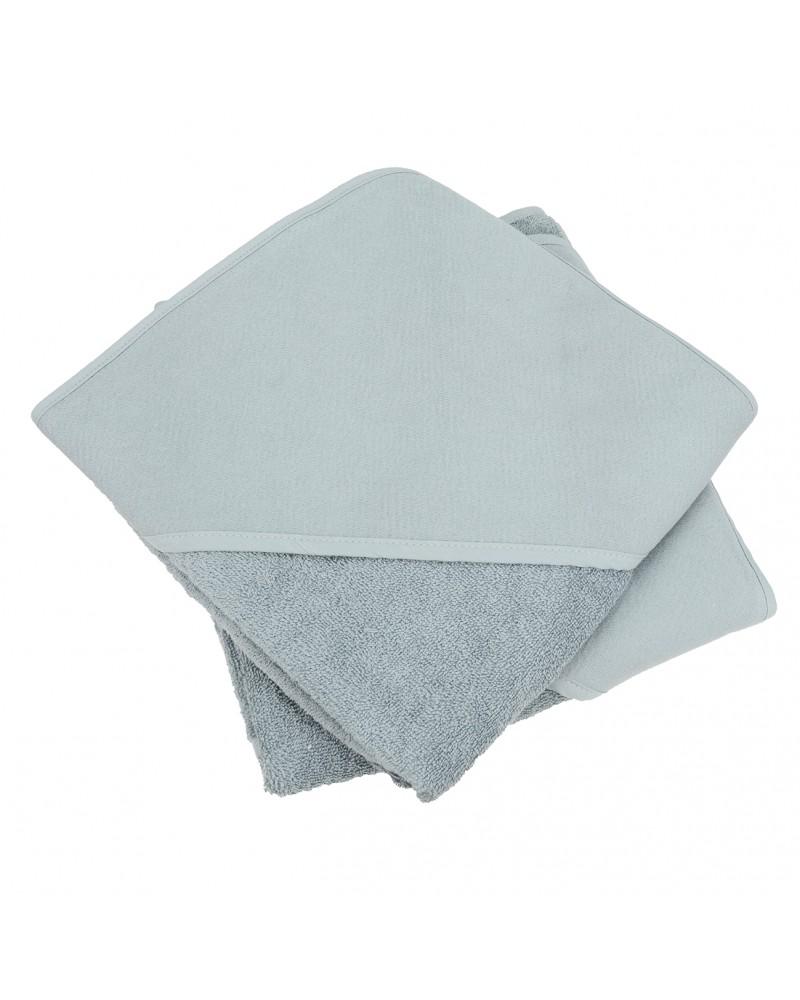 Cap de bain  Anthracite Grey pour bébé 100 x 100 cm