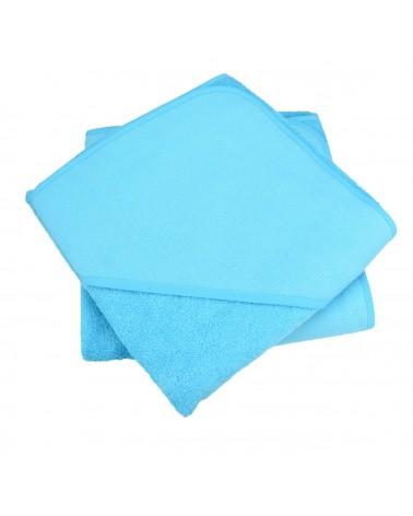 Cap de bain  Blue Aqua pour bébé 100 x 100 cm
