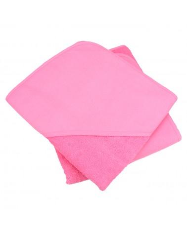 Cap de bain  Pink pour bébé 100 x 100 cm