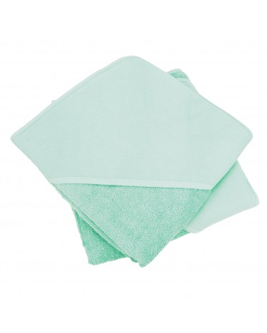 Cap de bain  Mint Green pour bébé 100 x 100 cm