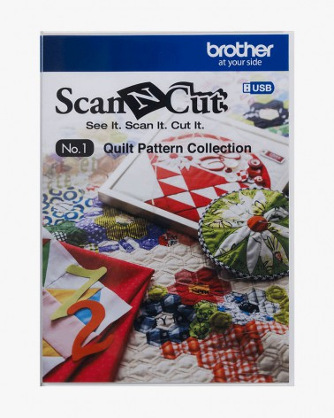 Collection de motifs de Quilting (courtepointe) CAUSB1 pour ScanNCut