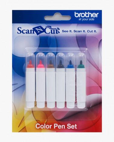 Ensemble de 6 stylos couleur CAPEN1 pour ScanNCut