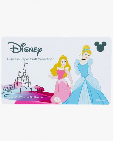 Collection de créations en papier Princesses de Disney CADSNP02