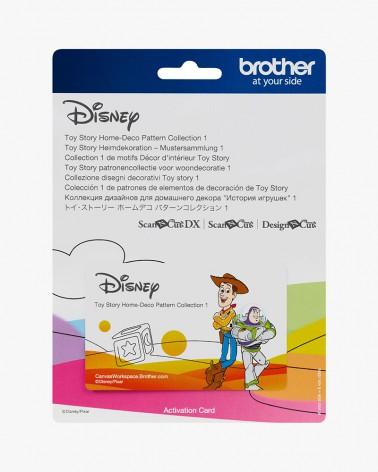 Collection de motifs Disney Toy Story CADSNP05