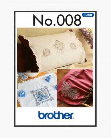 Collection de motifs de broderie n° 8 BLECUSB8