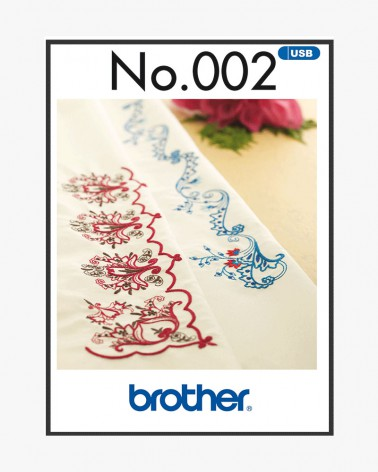 Collection de motifs de broderie n° 2 BLECUSB2