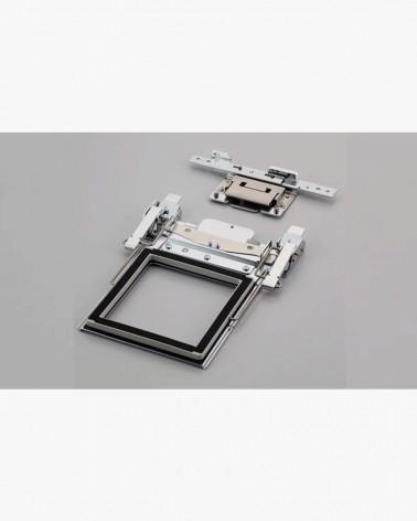 Cadre à broder à clip M avec bras D 100 x 100 mm VRCLP100B