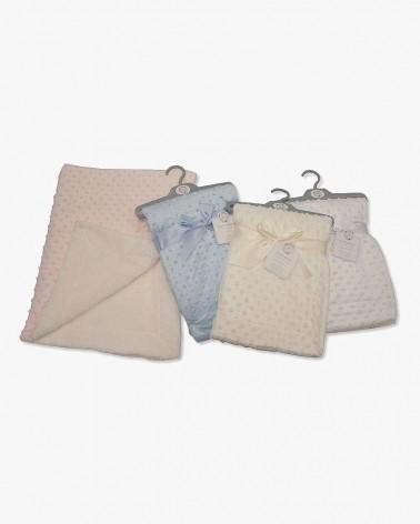Velours couverture/enveloppe bébé