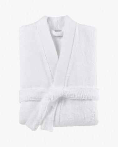 Peignoir de bain kimono  Blanc